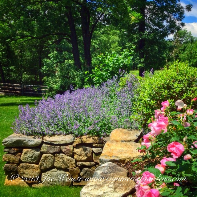 Rustic Stone Walls Farmhouse Landscape New York By