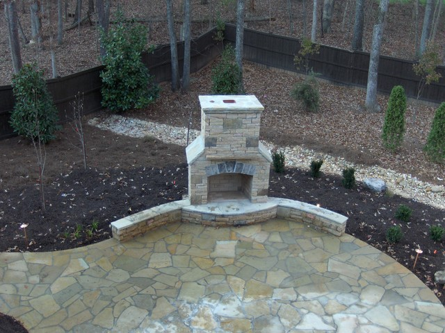 Ryan Landscape, Hardscape and Water Feature Project traditional-landscape