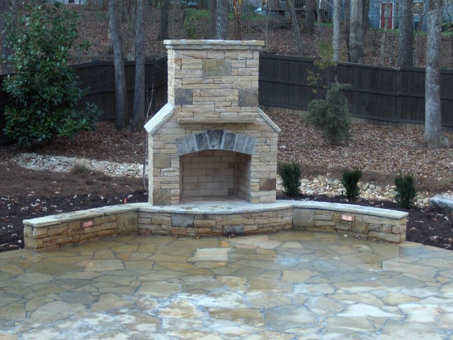 Ryan Landscape, Hardscape and Water Feature Project traditional landscape