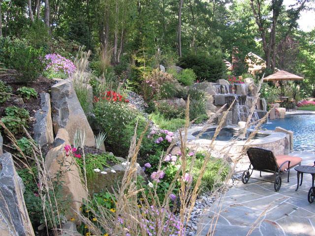 Saddle River Nj Swimming Pool Landscape Design Eclectic