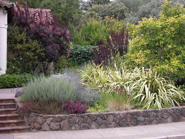 Garden Design: Garden Design With Mediterranean Garden Longwood