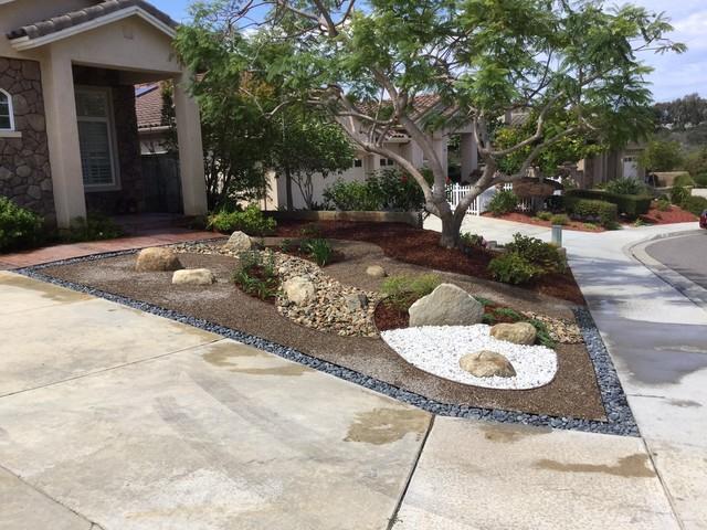San Go Drought Tolerant Front Yard By Modern Zen Garden American Southwest