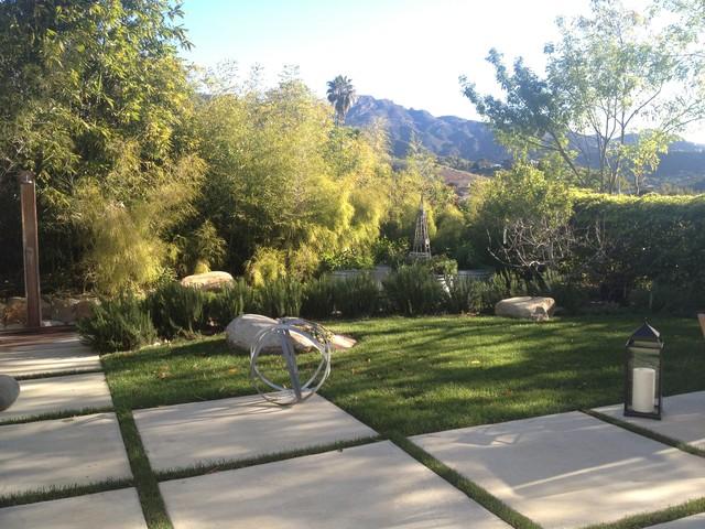Santa Barbara Modern Ranch Modern Landscape Santa