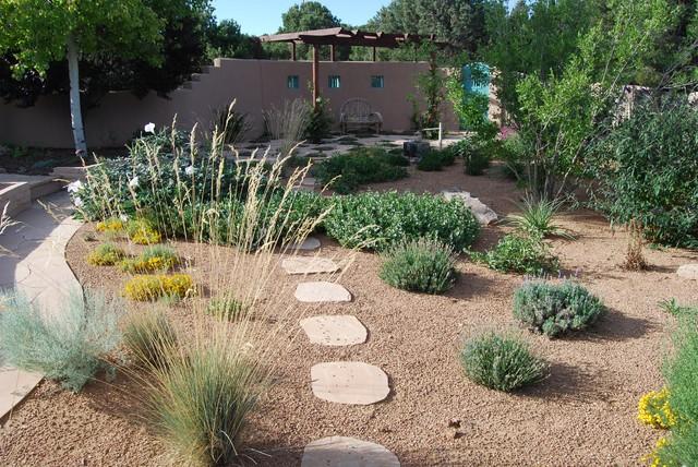 Santa Fe Permaculture/ Xeric Garden - Asian - Landscape - Albuquerque - By Santa Fe Permaculture ...