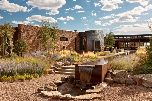 Santa Fe Retreat Southwestern Landscape Albuquerque By Overland Partners
