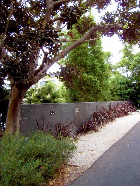 Santa Monica Canyon modern landscape