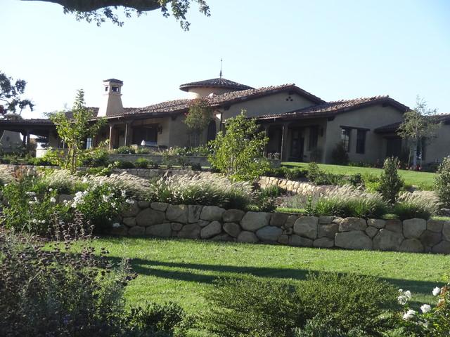 Santa ynez tuscan custom ranch Mediterranean ranch