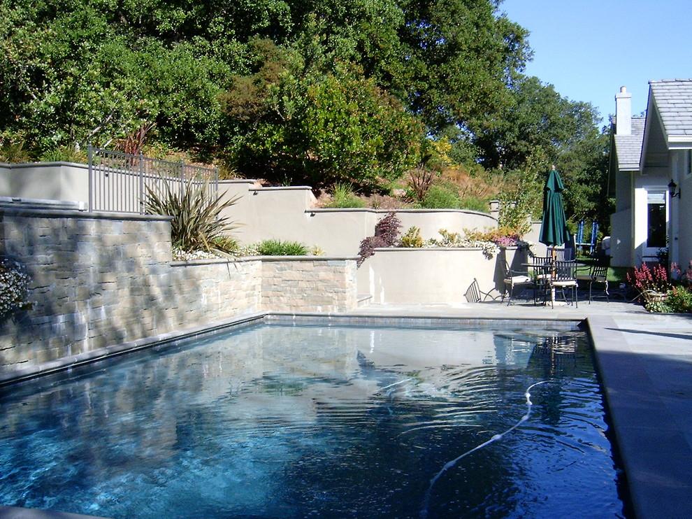 Saratoga Hillside Pool and Patio