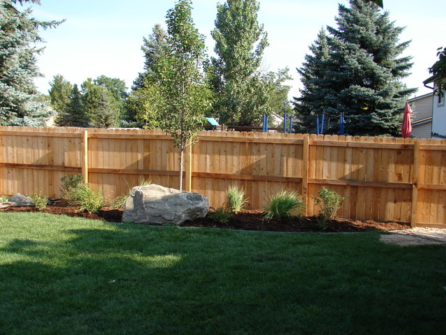 Design ideas for a modern landscaping in Denver.