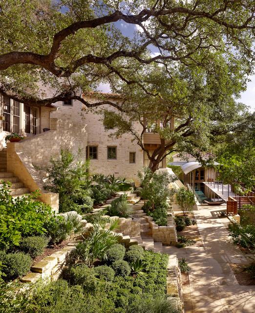 Scenic Mediterranean Landscape Austin By Root