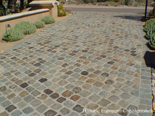 Scottsdale AZ: Granite Cobblestone 6x6 - Traditional - Landscape - Phoenix - by Monarch Stone ...