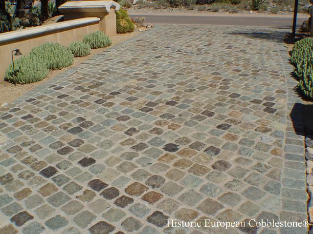 Scottsdale AZ Granite Cobblestone 6x6