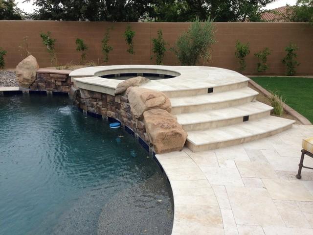Scottsdale Landscape Design Backyard Renovation : Myers Project contemporary-landscape