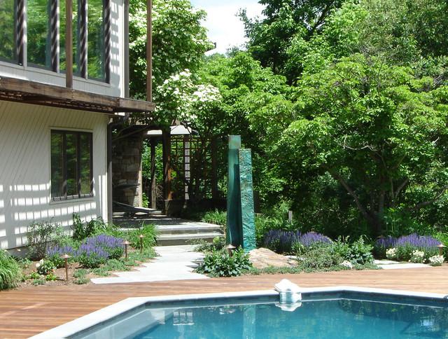 Sculpture garden pool - Sculptuur jardin contemporain ...
