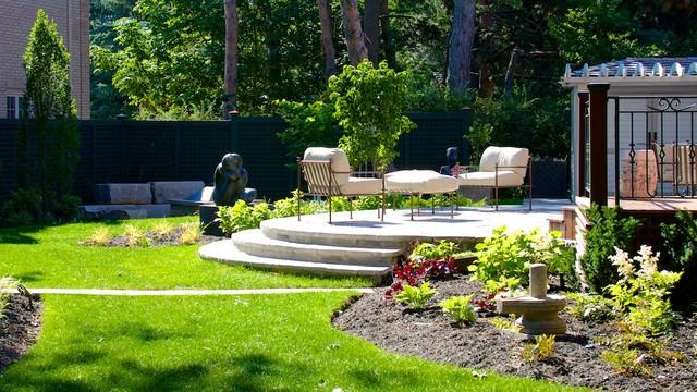 Scupture Garden traditional-landscape