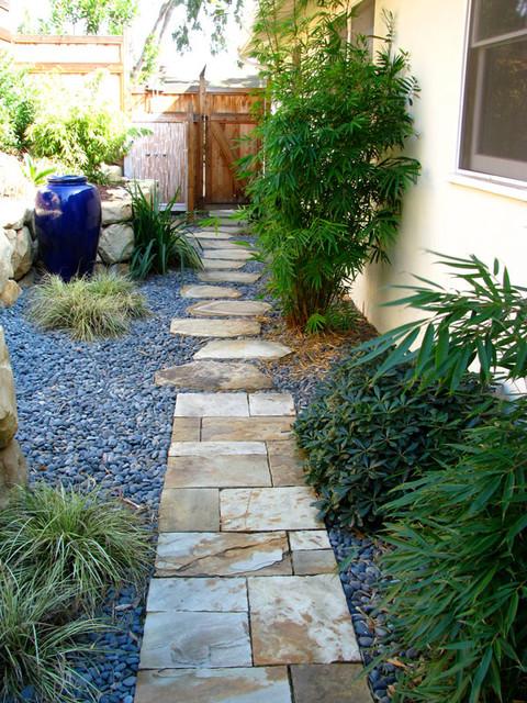 Seaside mesa garden traditional landscape santa for Mesa landscape architects