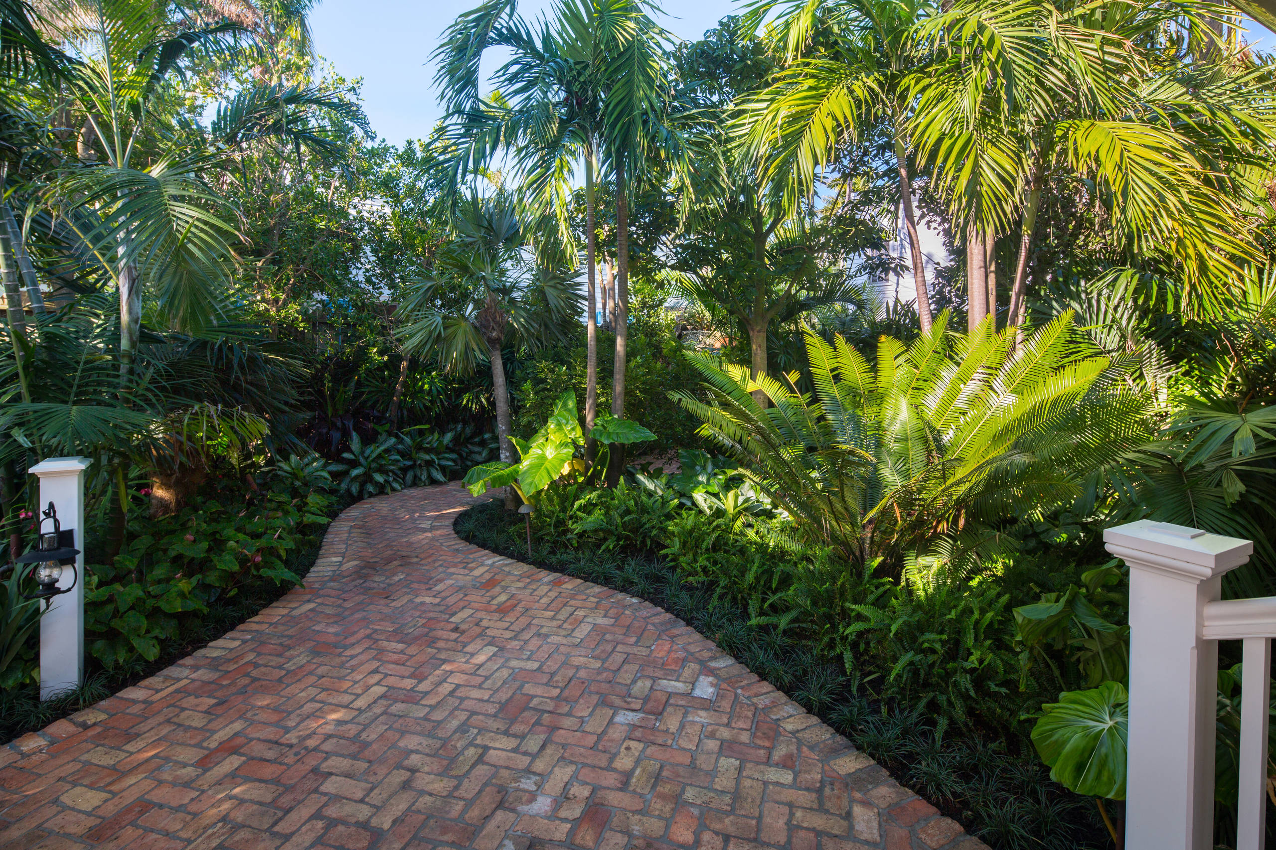 75 Beautiful Tropical Front Yard Landscaping Pictures Ideas November 2020 Houzz