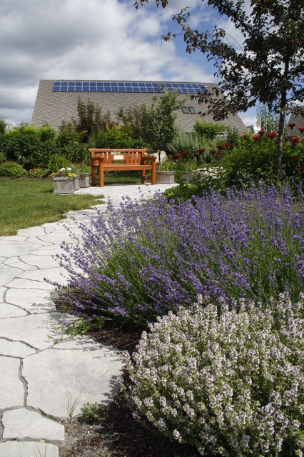 Sensory Garden Traditional Landscape Ottawa By A Cultivated Art Inc