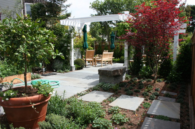 SF Patio 04 (Design by Myron Grossman) contemporary landscape