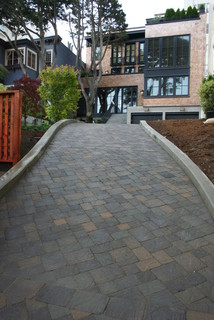 What kind of pavers were used here?