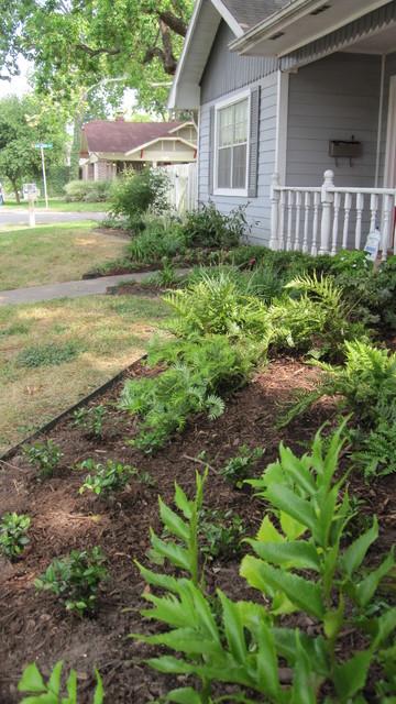 Shrubs For Shade Houston : Shade garden traditional landscape houston by