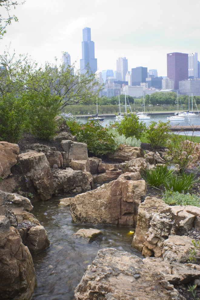 Shedd Aquarium Water Feature - Landscape - Chicago - by ...