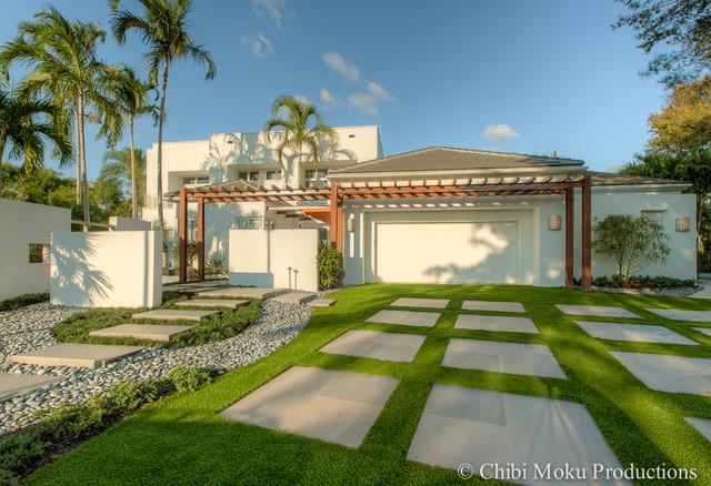 Shelly Preziosi Interior Design Boca Raton Florida Tropical Landscape