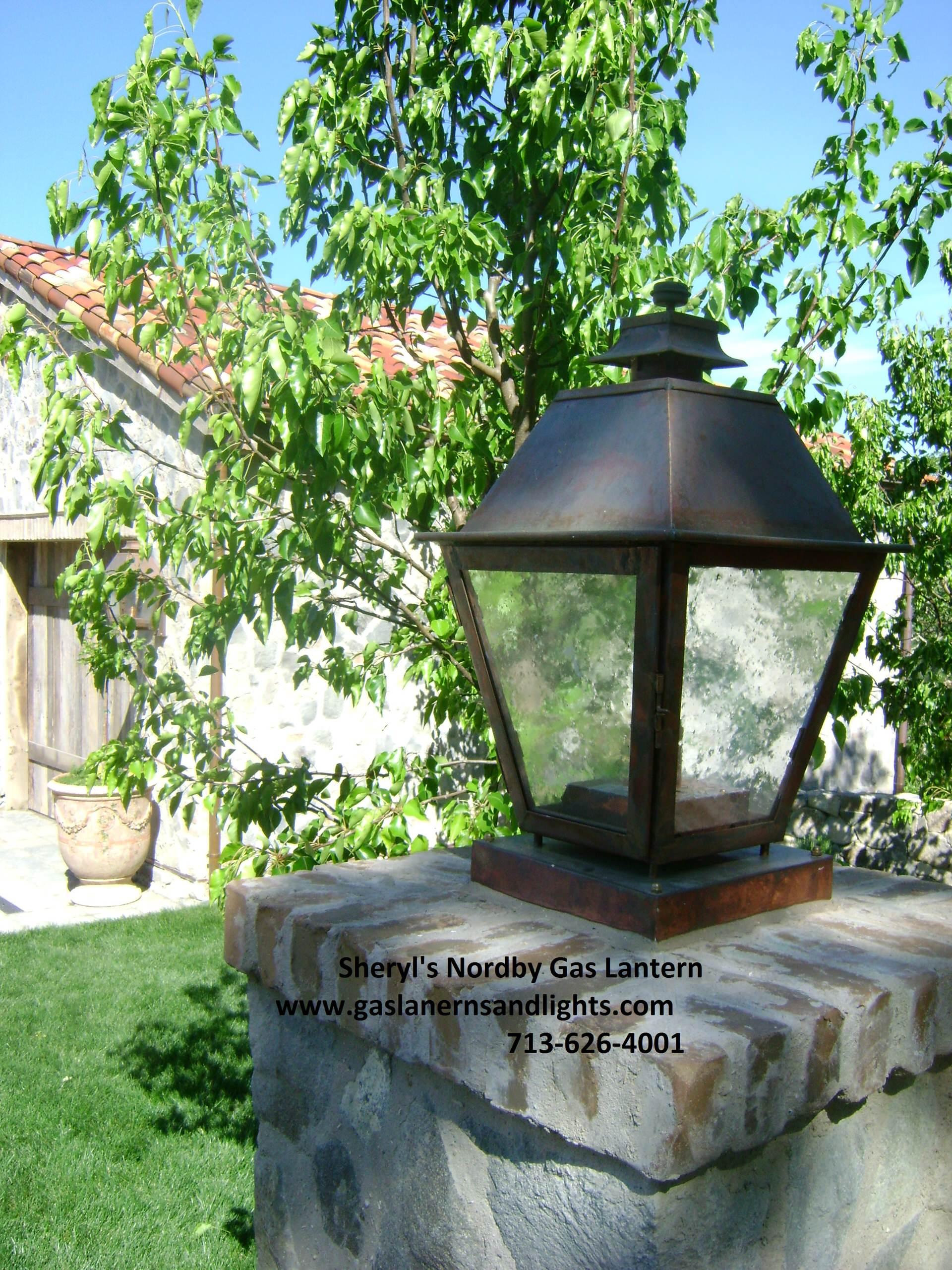 Sheryl's Nordby Gas Lantern