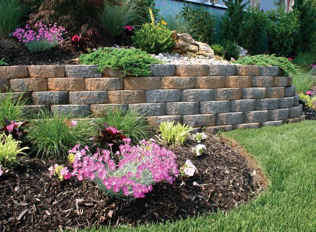 Sierra Garden Wall System - Traditional - Landscape - new ...