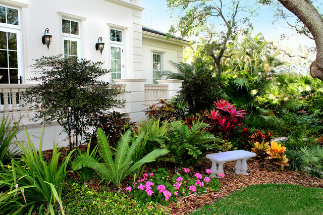 Siesta Key Beach Front Tropical Garden Tampa By