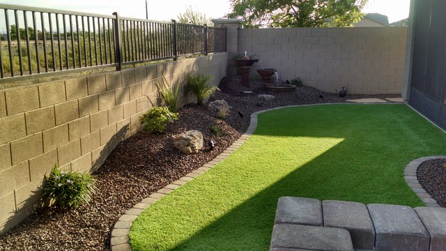 Small Backyard Landscape Design Traditional Landscape