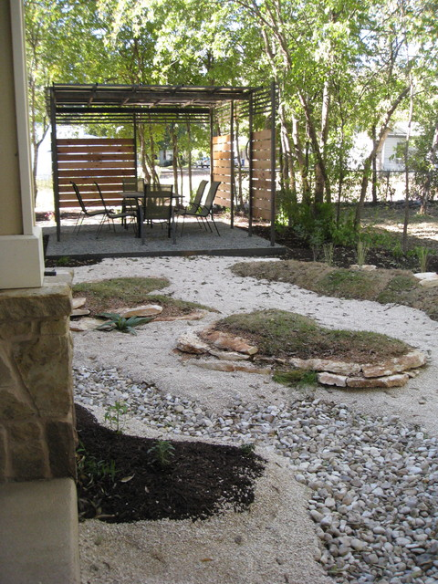 small backyard oasis contemporary landscape austin