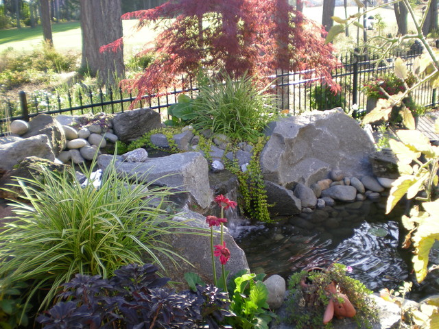small backyards eclectic landscape seattle by