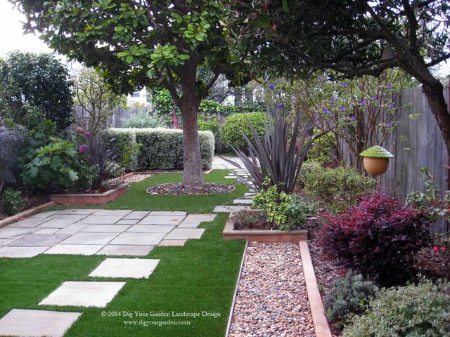 Small San Francisco Landscape Remodel Contemporary