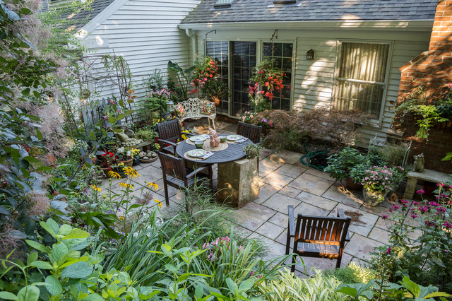 Small Space Big Impact Garden Eclectic Garden Cleveland By The Ohio Valley Group Inc