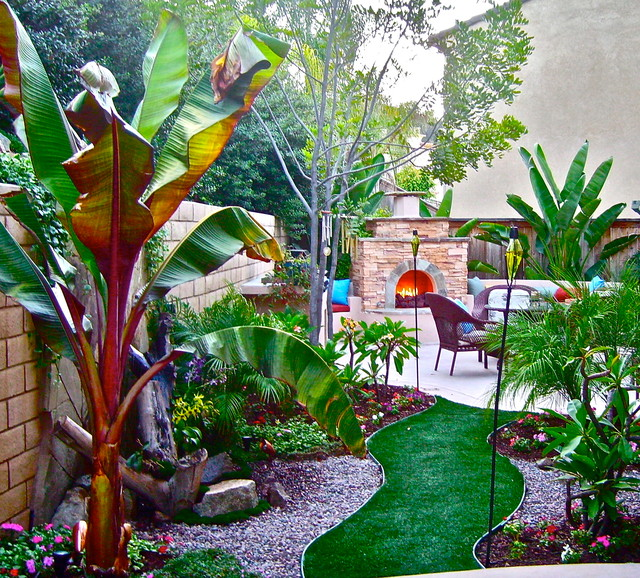 Small spaces big ideas for Tropical landscape