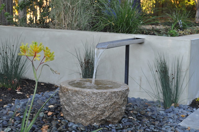 Small water feature asian landscape san francisco for Small water features