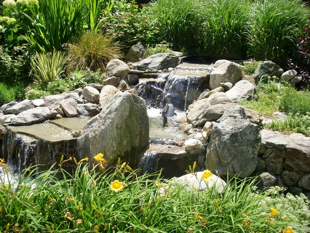 Small Water Features eclectic-landscape