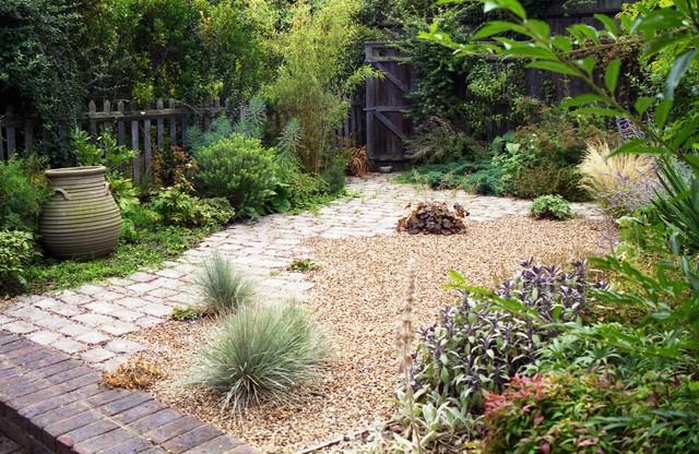 Small Xeriscape Cottage Garden Mediterranean Garden London