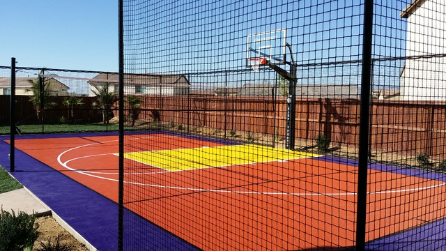 Snapsports Residential Multi Sport Backyard Game Court