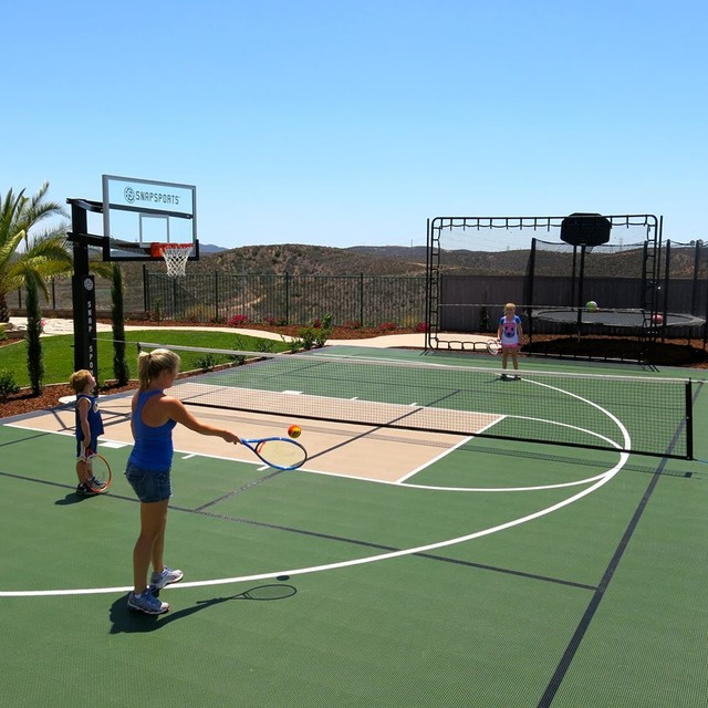 Snapsports San Diego Family Backyard Multi Court