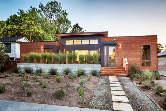 Sonoma California Breezehouse Contemporary Landscape