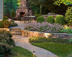 Sophisticated Surrounding traditional-landscape