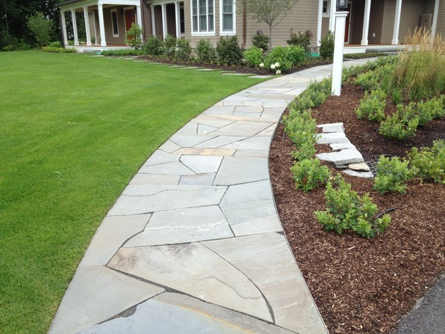 South Burlington Poolscape, Entry and Gardens traditional-landscape