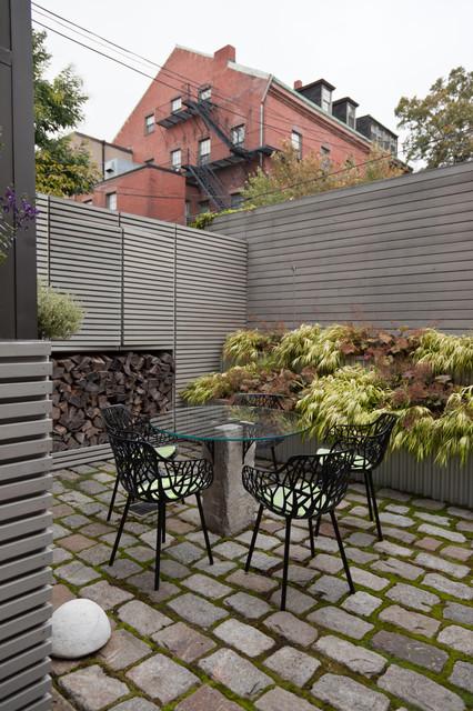 South End Courtyard contemporary-landscape
