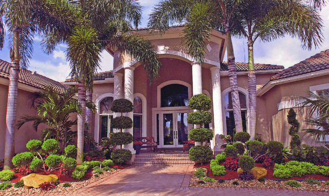 South florida landscaping tropical landscape miami by bamboo