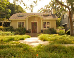 South Pasadena Eclectic transitional-landscape