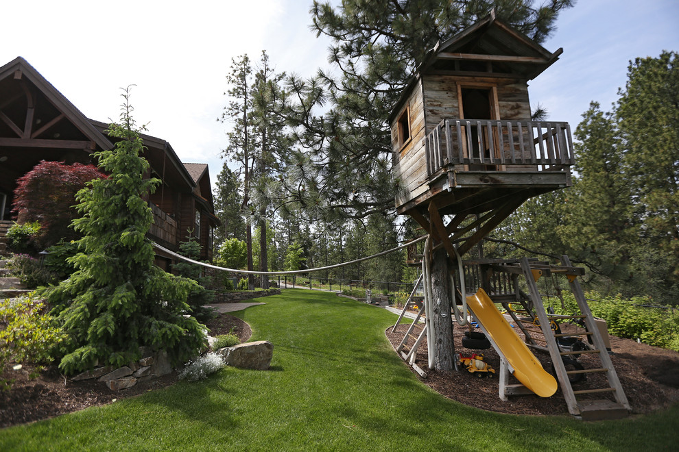 Inspiration for a traditional outdoor playset in Seattle.