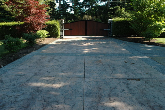 South Surrey Driveway Traditional Landscape Other