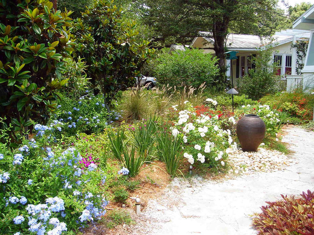 South tampa cottage tropical modern mix traditional for Landscape design tampa